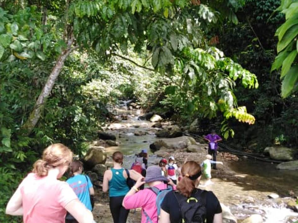 Janda Baik River Walk - RM10/person